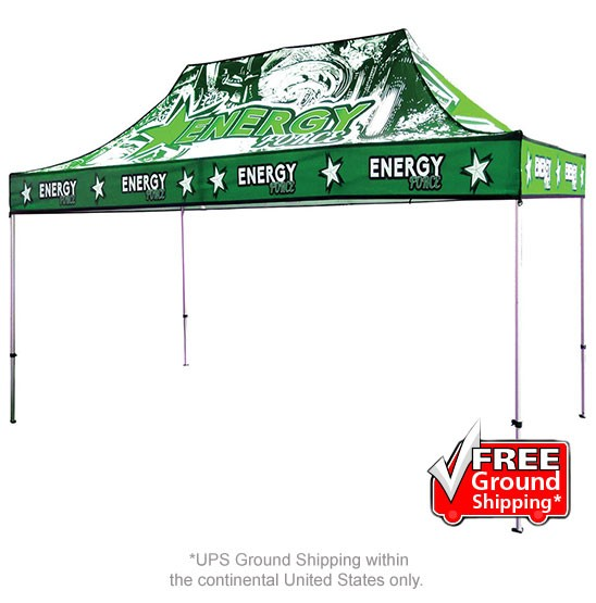 15 ft. Casita Canopy Tent Full-Color UV Print Graphic Package